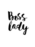 Boss Lady Print by Brett Wilson