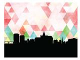 Saskatoon Triangle Print