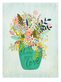 Show Your Love Posters by Mia Charro