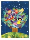 Tree Prints by Mia Charro