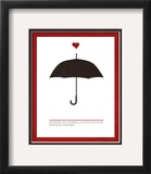 Sharing an Umbrella Prints by Addie Marie