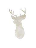 Beige Deer Póster por Melinda Wood