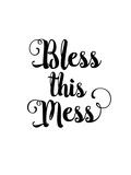 Bless this Mess Giclée-trykk av Brett Wilson
