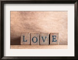 Love Spelled Out Posters by  frannyanne