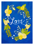 Love2 Print by Mia Charro