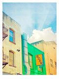 San Francisco Tops1 Prints by Mina Teslaru