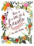 There Is A Little Bit Of Heaven Poster por Mia Charro