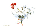 Rooster Kitchen 2 Poster di Suren Nersisyan