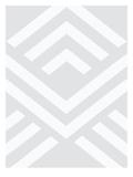Grey Aztec Print by Melinda Wood