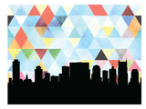 Nashville Triangle Prints