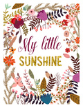 My Little Sunshine Poster by Mia Charro