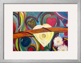 Bound by Love Framed Giclee Print by Barbara Aliaga