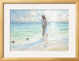 Seaside Embrace Posters by Karen Wallis