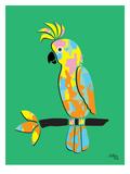 Crested Cockatoo Reproduction procédé giclée par Ashlee Rae