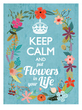 Keep Calm Prints by Mia Charro