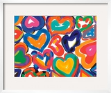 Hearts in Motion Framed Giclee Print by Sarah Gillard