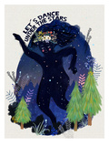 Dance Under The Stars2 Prints by Mia Charro