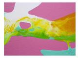 Smooth Yellow Prints by Deb McNaughton