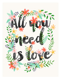 All You Need Is Love Prints by Mia Charro