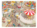 Aerial Carnivale Prints by Mina Teslaru