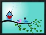 Bird Couple Posters by  adriatix