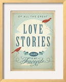 Love Stories Posters by  Anderson Design Group