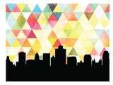 Salt Lake City Triangle Prints