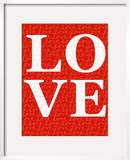 Red Love Posters by  Avalisa