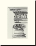 English Architectural II Stretched Canvas Print