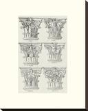 English Architectural VI Stretched Canvas Print