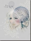Keep the Stars Stretched Canvas Print by Anahata Katkin