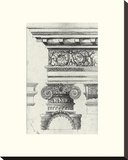 English Architectural I Stretched Canvas Print