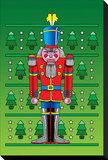 Pop Art Nutcracker Stretched Canvas Print by Howie Green