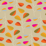 Multi Leaves - Pattern Prints by Dominique Vari