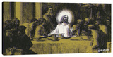 Last Supper 1 Stretched Canvas Print by Steve Kaufman