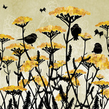 Yarrow Fields Prints by Bee Sturgis