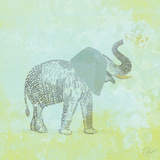 Elephant Never Forgets Prints by Dominique Vari