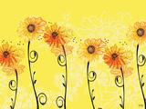 Sunny Sunflowers Kunst av Bee Sturgis