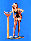 Figures Don't Lie Pin-Up 1939 Poster by Gil Elvgren