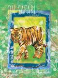 Safari Adventure Jungle Tiger Art by Bee Sturgis