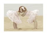 Friendly Hug Kunst av Betsy Cameron