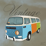 Vintage Camper Van Prints by Dominique Vari