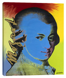 Mozart 3 Stretched Canvas Print by Steve Kaufman