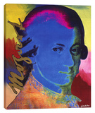 Mozart 2 Stretched Canvas Print by Steve Kaufman