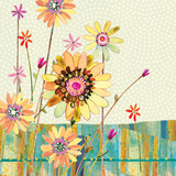 Polka Dot Delight-Meadow Print by Robbin Rawlings