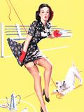 Blind Date Pin-Up 1940s Plakat af Gil Elvgren
