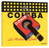 Cohiba Stretched Canvas Print by Steve Kaufman