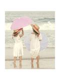 Under My Umbrella Reproduction giclée Premium par Betsy Cameron