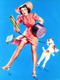 Help Wanted! Pin-Up with Dog 1939 Posters by Gil Elvgren