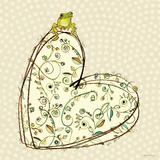 Tree Frog + Heart Plakater af Robbin Rawlings